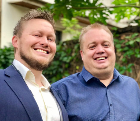 Håvar Bauck and Endre Opdal - HotelOnline Founders